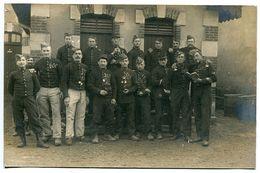 Photo Carte Groupe Soldats Militaires 79e R.I. Régiment D'Infanterie Escouade - Régiments