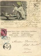 British India, Native Sweetmeat Seller (1904) Clifton & Co. (?) Postcard - India