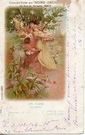 Mucha, Collection Home-decor Panneau N 15 Les Fleurs, Photocol 1062 - Mucha, Alphonse