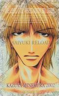 Télécarte Japon / 110-016 - MANGA - SAIYUKI By KAZUYA MINEKURA ** ONE PUNCH **  - ANIME Japan Phonecard  - 11390 - BD