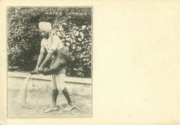 India, Native Water Carrier (1899) Clifton & Co. Court Card - India