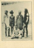India, Native Fakirs Faqirs (1899) Clifton & Co. Court Card - India