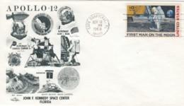Sc#C76 Apollo 12 Mission, Astronauts Conrad And Bean Illustrated 1969 Cover - United States