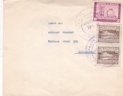1949 COVER BOLIVIA CIRCULEE STAMP A PAIR - BLEUP - Bolivia