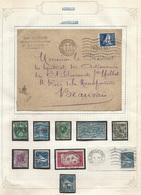 France Algérie Page De Collection Sur Les Timbres Algérien Obl à Marseille !! Amusant !! - 1877-1920: Periodo Semi Moderne
