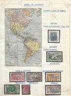 France Colonies Collection Sur Les Lignes De Paquebots 17 Timbres Dont 1 Suirnam !! RR - France (ex-colonies & Protectorats)