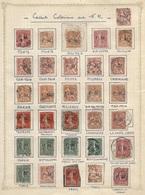 France Colonies Collection De 31 Timbres D'oblitérations Coloniales Sur Franchise Militaire FM RR - France (ex-colonies & Protectorats)