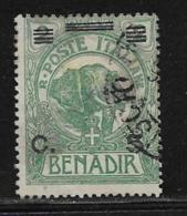 Somalia Scott # 71 Used Elephant Surcharged, 1926, CV$26.00 - Somalia