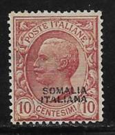 Somalia Scott # 85 Mint Hinged Italy 1906 Stamp Overprinted, 1926 - Somalia