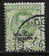 Somalia Scott # 87 Used Italy 1926 Stamp Overprinted, 1926 - Somalia