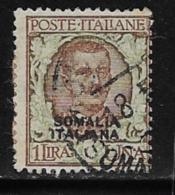 Somalia Scott # 91 Used Italy 1901 Stamp Overprinted, 1926 - Somalia