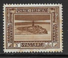 Somalia Scott # 138a Perf 14 Mint Hinged Lighthouse, 1934, Some Tropical Staining - Somalia