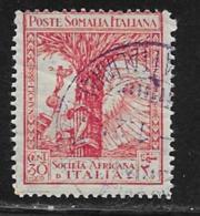 Somalia Scott # B22 Used Allegory Of Fascism And Victory,1928, CV$13.50, Crease - Somalia
