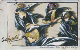 Télécarte Japon / 110-016 - MANGA - SAIYUKI By KAZUYA MINEKURA * ONE PUNCH ** - Japan Phonecard  - ** MOVIC ** - 11408 - BD