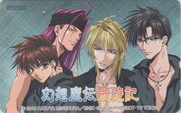 Télécarte Japon / 110-016 - MANGA - SAIYUKI By KAZUYA MINEKURA ** ONE PUNCH **  Japan Phonecard  TV TOKYO 11410 - BD