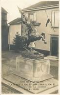 "CARTE PHOTO  FRANCE 57 ""Gandrange Boussange, Monument Aux Morts"" - France"