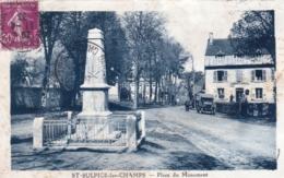 23 - Creuse -  SAINT SULPICE Les CHAMPS - Place Du Monument Aux Morts - Other Municipalities