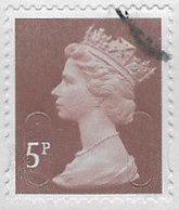 GB SG U2922 Machin 5p 2017 M17L MAIL Good/fine Used [40/32426/ND] - 1952-.... (Elizabeth II)