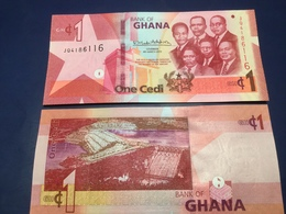 """GHANA  1 Cedis New Date  2019  Amended Design Pnew  """"Just Issued""""    UNC - Ghana"""