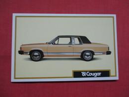 1981 Cougar  Ref 3445 - Passenger Cars
