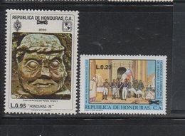 Honduras 1989 Issue MNH Scott C785 To C786 Surcharges - Honduras
