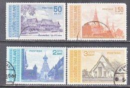 THAILAND  485-8      (o)   THAI  ARCHITECTURE - Thailand