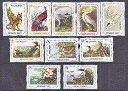 HAITI  CINDERELLAS   AUDUBON  BIRDS  ** - Cinderellas