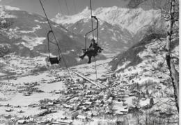 AK 0270  Schruns Gegen Zimba Und Vandanser Wand - Photo Wolf Um 1960 - Schruns
