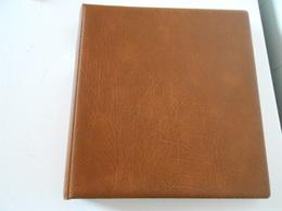 CLASSEUR LINDNER AVEC FEUILLES ANNEES 1849/1939 COMPLET - Albums & Reliures