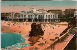31pps 1837 CPA - BIARRITZ - VUE SUR LA PLAGE - Biarritz