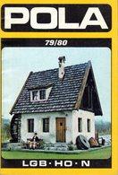 Catalogue POLA 1979/80 Modellbahnzubehör LGB HO N - Livres Et Magazines