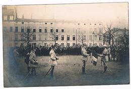 D 54 - NANCY  - Carte  Photo -  SOUVENIR DE LA REMISE DE LA FOURRAGERE  - 6214  MZL - Militaria
