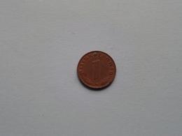 1938 G - 1 Reichspfennig / KM 89 ( Uncleaned Coin / For Grade, Please See Photo ) !! - [ 4] 1933-1945 : Troisième Reich