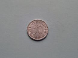 1941 A - 50 Reichspfennig / KM 96 ( Uncleaned Coin / For Grade, Please See Photo ) !! - 50 Reichspfennig