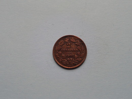 1901 ( BaPth ) 2 1/2 Centimes / KM 21 ( Uncleaned Coin / For Grade, Please See Photo ) ! - Luxembourg
