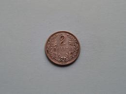 1925 - 2 DULITU ( Silver ) KM 77 > Lietuvos / Lithania ( Uncleaned Coin / For Grade, Please See Photo ) ! - Lituanie