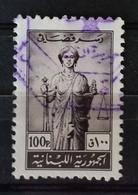 EI - Lebanon Undated Justice Revenue Stamp 100 Piastres Grey/black ! - Lebanon