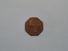 VOORUIT 1880 BROODKAART 1 ( Uncleaned Coin / For Grade, Please See Photo ) ! - Monedas / De Necesidad