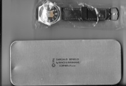 Montre  BD  De La Bande Dessinée  XIII, DARGAUX  BENELUX  1996  Dans  Sa  Boite  Métallique - Joyas & Relojería