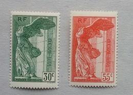 N° 354 Et 355 VICTOIRE DE SAMOTHRACE NEUF* - France