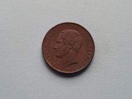 LEOPOLD I > PREMIER ROI Des BELGES > 1853 Herdengkingsmedaille ( 32 Mm. - 19.5 Gr. ) > ( For Grade See Photo ) ! - Royal / Of Nobility
