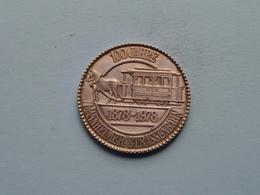 100 Jahre MANNHEIMER STRASSENBAHN 1878 / 1978 - MVG ( 35 Mm. - 14.6 Gr. Silber 900 ) > ( See Photo ) ! - Firma's