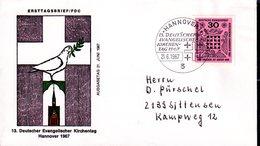 Bund 1967 Mi. 536 Als FDC (pü3190) - [7] Federal Republic