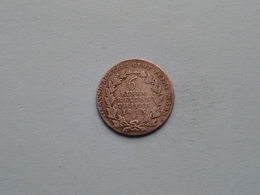1813 A (Silber) 6 Einen Reichs Thaler Friedr. Wilhelm III - KM 385 ( For Grade, Please See Photo ) ! - Taler Et Doppeltaler