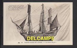 """DD / BATEAUX / VOILIERS / """" LE SOLEIL ROYAL """" DE TOURVILLE , EX-VOTO A NOTRE-DAME DE LIESSE (AISNE) - Sailing Vessels"""