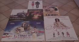 LOT 6 AFFICHES CINEMA FILMS Sophie MARCEAU MARQUISE BELPHEGOR ANNA KARENINE FILLE DE DARTAGNAN AMOUR BRAQUE - Posters