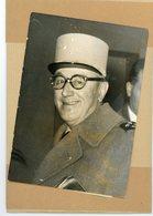 Photo Originale . Le Général GAMBIEZ En Garde à Vue à   ALGER  En 1961 - Guerre, Militaire