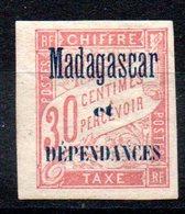 MADAGASCAR - YT Taxe N° 4 - Neufs * - MH - Cote: 12,00 € - Portomarken