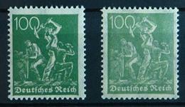 Deutsches Reich Infla 187 A+b Geprüft Mi.52 €     (a568a - Ohne Zuordnung