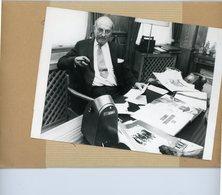 Photo Originale . Le Colonel  DAVID STERLING  Vieux Réve De L'extréme Droite En Grande Bretagne - Guerre, Militaire